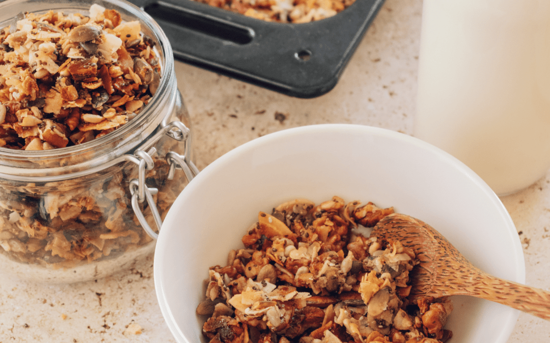 Grain-free Superfood Coconut Granola