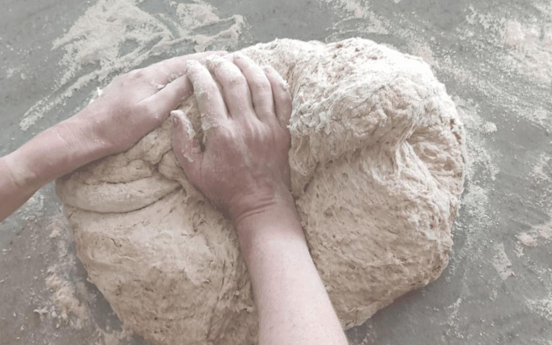 The Beauty of baking bread